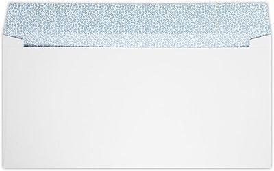 LUX #16 Regular Envelopes (6 x 12) 250/Pack, 28lb. Bright White W/ Sec Tint (15R-W-250)
