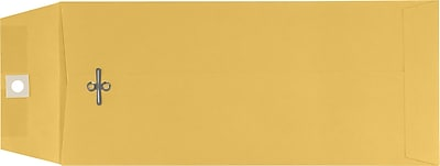 LUX #11 Open End Envelopes (4 1/2 x 10 3/8) 50/Pack, 32lb. Brown Kraft (WS-5536-50)