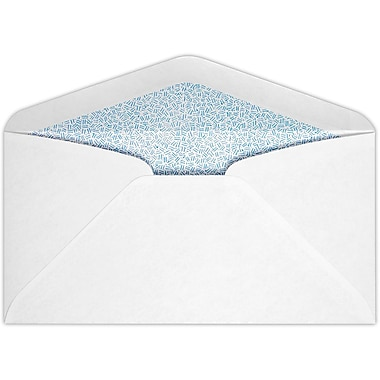 LUX #7 3/4 Regular Envelopes (3 7/8 x 7 1/2) 50/Pack, 24lb. Bright White w/ Sec. Tint (734R-ST-50)