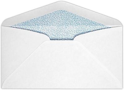 LUX #7 3/4 Regular Envelopes (3 7/8 x 7 1/2) 50/Pack, 24lb. Bright White w/ Sec. Tint (734R-ST-50)