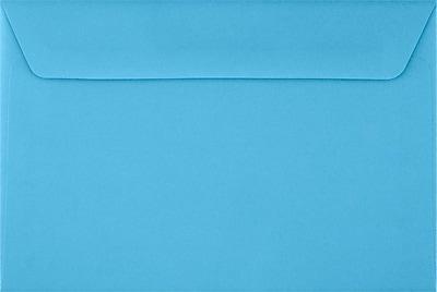 LUX 6 x 9 Booklet Envelopes 500/Pack, Bright Blue (FE-4220-18-500)