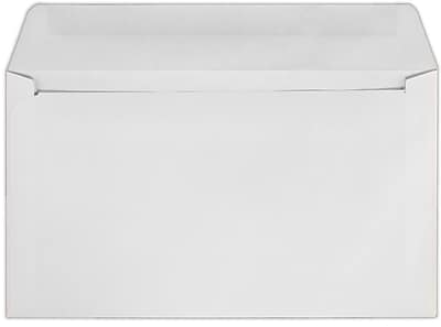 LUX 6 x 10 1/2 Machine Insertable Booklets 1000/Pack, 24lb. White, Machine (610MIB-W-1000)
