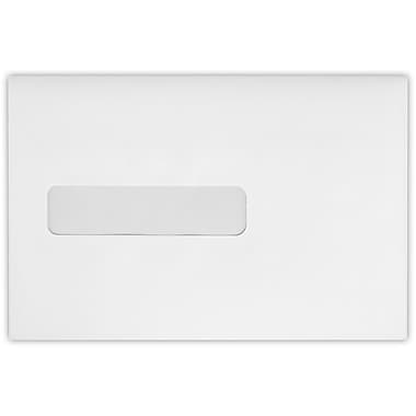 LUX 6 x 9 Booklet Window Envelopes 500/Pack, 24lb. Bright White (69W-W-500)