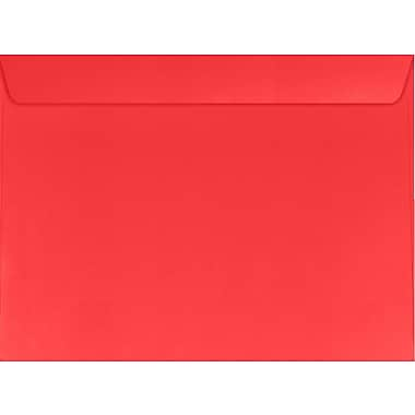 LUX 6 x 9 Booklet Envelopes 50/Pack, Electric Cherry (WS-7362-50)