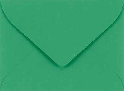 LUX #17 Mini Envelopes (2 11/16 x 3 11/16) 250/Pack, Holiday Green (LUXLEVC-17-250)