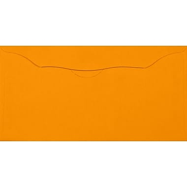 LUX Offering Envelopes (3 1/8 x 6 1/4) 50/Pack, Electric Orange (WS-7611-50)