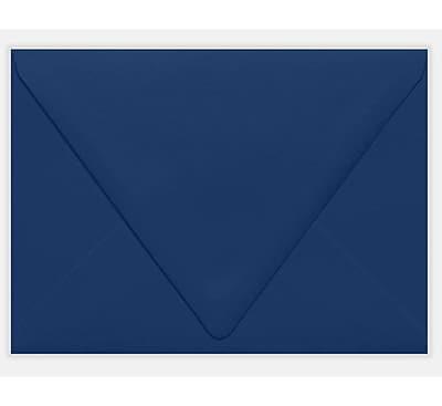 LUX A7 Contour Flap Envelopes (5 1/4 x 7 1/4) 1000/Pack, Navy (LUX18801031000)