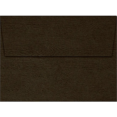 LUX A6 Invitation Envelopes (4 3/4 x 6 1/2) 500/Pack, Teak Woodgrain (4030-S03-500)