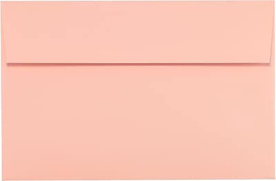 LUX A9 Invitation Envelopes (5 3/4 x 8 3/4) 250/Pack, Blush (LUX-4895-39-250)