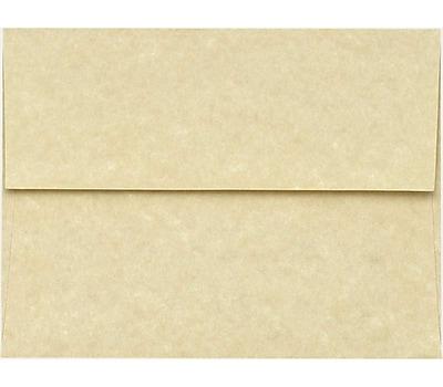 LUX A6 Invitation Envelopes (4 3/4 x 6 1/2) 250/Pack, 60lb. Antique Parchment (6675-17-250)