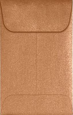 LUX #1 Coin Envelopes (2 1/4 x 3 1/2) 500/Pack, Copper Metallic (1CO-M27-500)