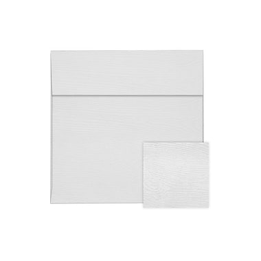 LUX 6 1/2 x 6 1/2 Square Envelopes 50/Pack, White Birch Woodgrain (8535-S02-50)