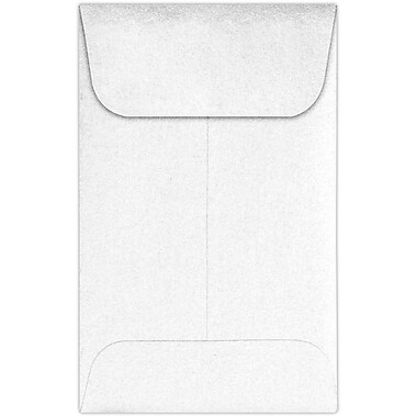LUX #1 Coin Envelopes (2 1/4 x 3 1/2) 1000/Pack, Crystal Metallic (1COCRYS-1000)