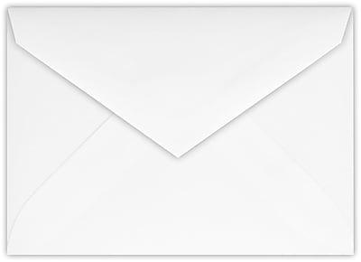 LUX 4 BAR Envelopes (3 5/8 x 5 1/8) 500/Pack, 28lb. Bright White (4BAR-BW-500)