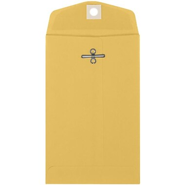 LUX 4 x 6 3/8 Open End - 32lb. Brown Kraft 500/Pack, 32lb. Brown Kraft (WS-5504-500)