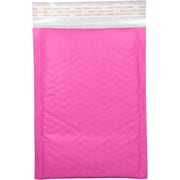 LUX #000 LUX Kraft Bubble Mailer Envelopes 50/Pack, Bright Fuchsia (LUX-KNPBM-00050)