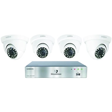 Uniden Guardian G7404d 4-channel 1080p 1tb Surveillance System with 4 Cameras