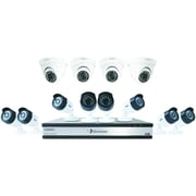 Uniden Guardian G71684d3 16-channel 1080p 3tb Surveillance System With 12 Cameras