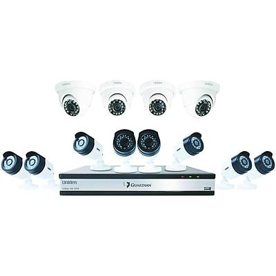 Uniden Guardian G71684d3 16-channel 1080p 3tb Surveillance System With 12 Cameras