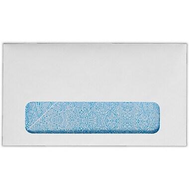 LUX #6 3/4 Window Envelopes (3 5/8 x 6 1/2) 50/Pack, 24lb. Bright White w/ Sec. Tint (634W-W-50)