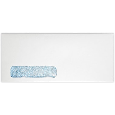 LUX #12 Window Envelopes (4 3/4 x 11) 250/Pack, 24lb. Bright White w/ Sec. Tint (12W-WST-250)