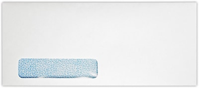 LUX #12 Window Envelopes (4 3/4 x 11) 250/Pack, 24lb. Bright White w/ Sec. Tint (12W-WST-250)