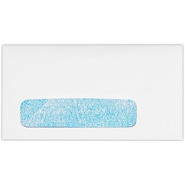 LUX #7 3/4 Window Envelopes (3 7/8 x 7 1/2) 500/Pack, 24lb. Bright White w/ Sec. Tint (712W-WST-500)