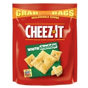 Cheez-It Grab Bags Crackers, White Cheddar, 7 oz., 6/Pack (KEE11621)