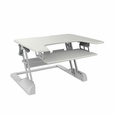 TygerClaw Sit-Stand Desktop Workstation Stand (TYDS14014)