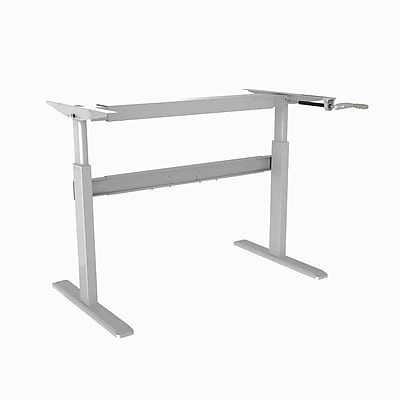 TygerClaw Cranked Sit-Stand Desk Frame