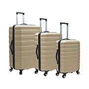 Traveler's Choice Cypress Hardsided Luggage Set, 3 Piece, Sand (US09112Y)