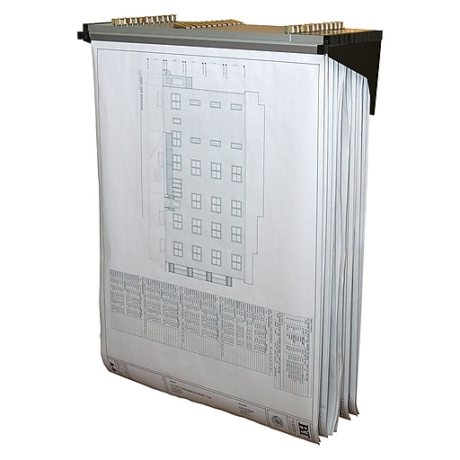 Adir corp black drop lift wall rack for blueprints 616 blk staples httpsstaples 3ps7is malvernweather Image collections