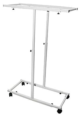 Adir Mobile Vertical Plan Center White For Blueprints (614-WHI)