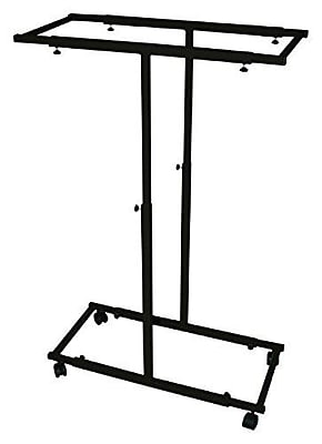 Adir Mobile Vertical Plan Center Black (614-BLK)