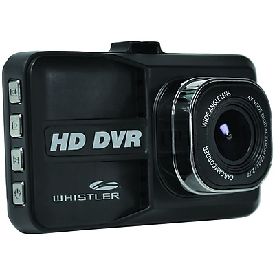 Whistler D14vr 1080p/720p Hd Automotive Der with 3