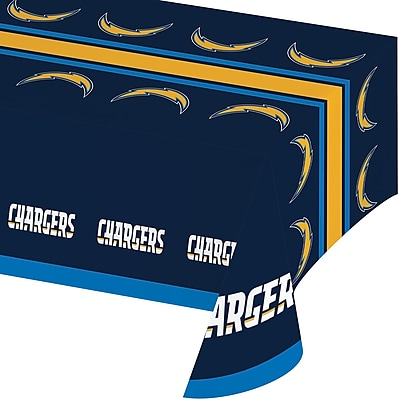 NFL Los Angeles Chargers Plastic Tablecloth (729526) 24008402