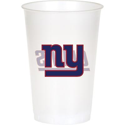NFL New York Giants Plastic Cups 8 pk (019521) 24008509