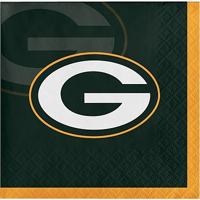 NFL Green Bay Packers Beverage Napkins 16 pk (659512)