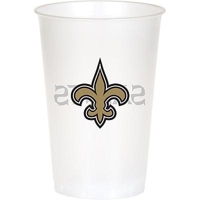 NFL New Orleans Saints Plastic Cups 8 pk (019520)