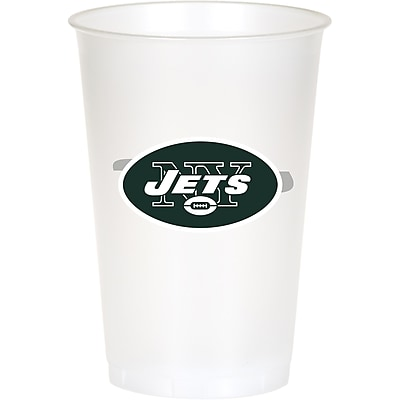 NFL New York Jets Plastic Cups 8 pk (019522) 24008494