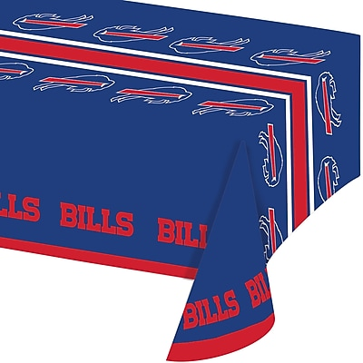 NFL Buffalo Bills Plastic Tablecloth (729504) 24008194