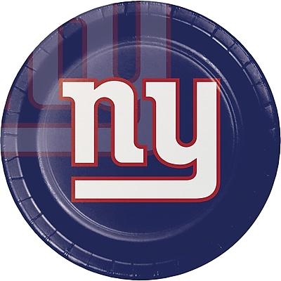 NFL New York Giants Paper Plates 8 pk (429521)