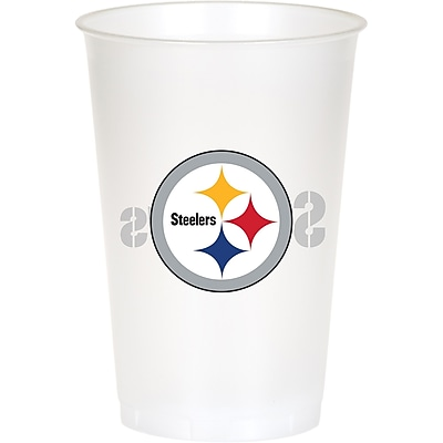 NFL Pittsburgh Steelers Plastic Cups 8 pk (019525) 24008461
