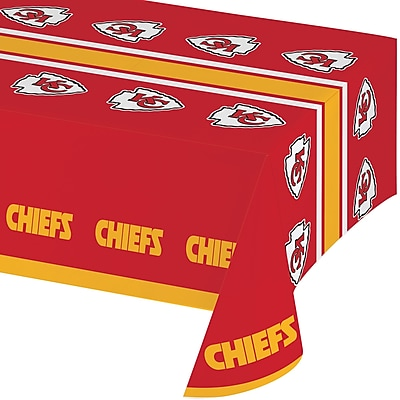 NFL Kansas City Chiefs Plastic Tablecloth (729516)