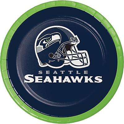 NFL Seattle Seahawks Dessert Plates 8 pk (419528)