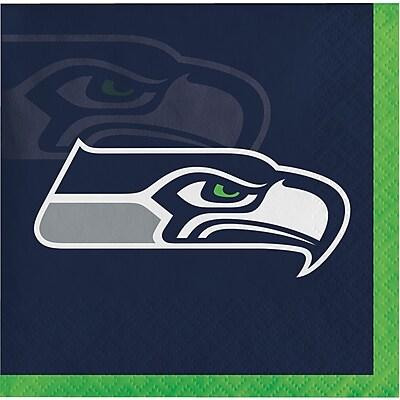 NFL Seattle Seahawks Beverage Napkins 16 pk (659528)