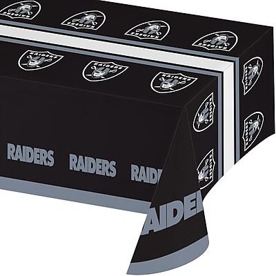 NFL Oakland Raiders Plastic Tablecloth (729523)