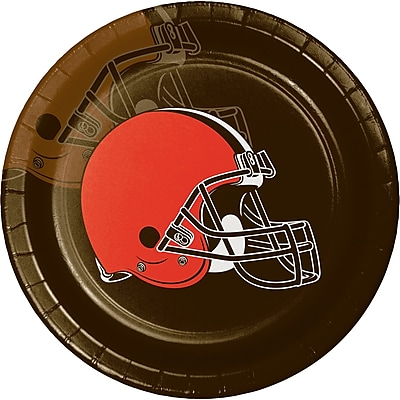 NFL Cleveland Browns Paper Plates 8 pk (316660)