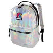 Fortnite Stamped Backpack, Silver Iridescent (FN1004--993)