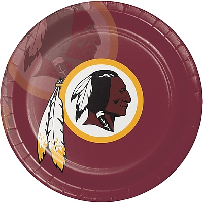 NFL Washington Redskins Paper Plates 8 pk (429532)